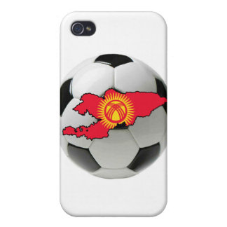 Kyrgyzstan football soccer cover for iPhone 4