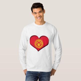 Kyrgyzstan Heart Flag T-Shirt