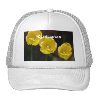 Kyrgyzstan Tulips Trucker Hat
