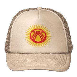 Kyrgyzstan   tunduk, Latvia Cap