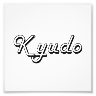 Kyudo Classic Retro Design Photo