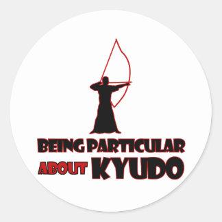 Kyudo Designs Round Sticker