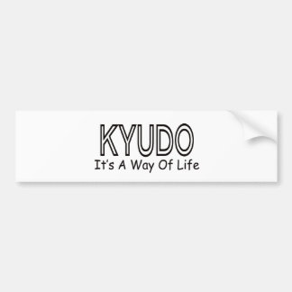 Kyudo It's A Way Of Life Bumper Stickers