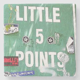 L5P. Little 5 Points, Atlanta, Georgia, Coasters Stone Coaster