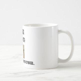 L-17-1712-lion-Z00D1R6D, THE KING, OF THIS HOUSE. Basic White Mug