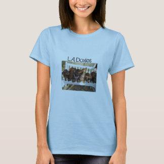 L.A.Doxies Logo1 - Landscape Womens T-Shirt