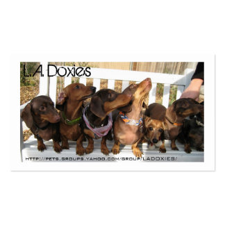 L.A.Doxies [Napoleon] Pack Of Standard Business Cards