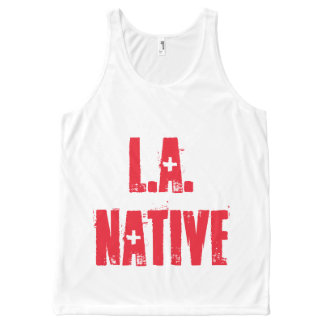 L.A. Native: Rare as Diamonds All-Over Print Tank Top
