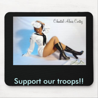 l_ae76aa836f737a271b6800e50757009f, Support our... Mouse Pad