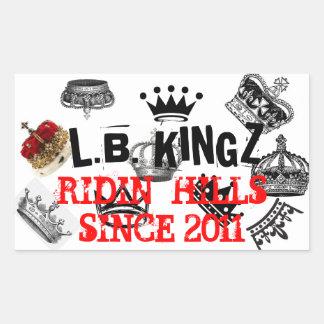L.B. KINGZ RIDERS STICKERS