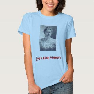L_Borden, Love Is Giving 41 Whacks T Shirt