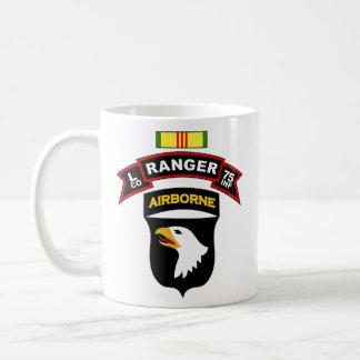 L Co, 75th Infantry - Ranger - 101st Abn, Vietnam Basic White Mug