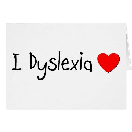 l Dyslexia Love Cards
