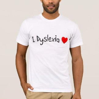 l Dyslexia Love T-Shirt