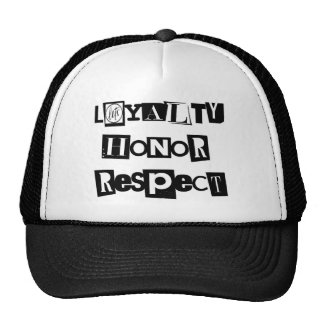 L.E.T.S Loyalty Honor Respect Snapback Cap