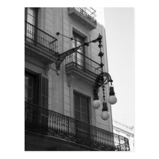 L Eixample Postcard Barcelona Spain