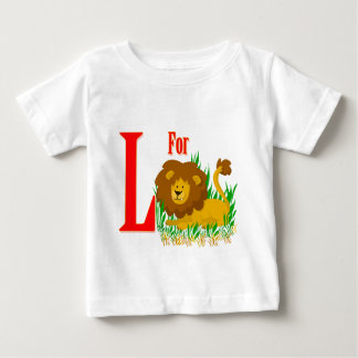 L for Lion Baby T-Shirt