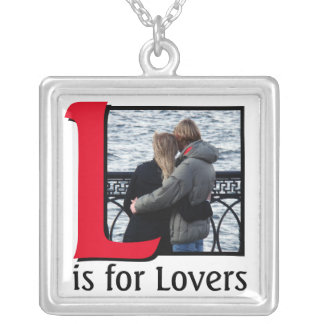 L for Lovers Silver Plated Necklace