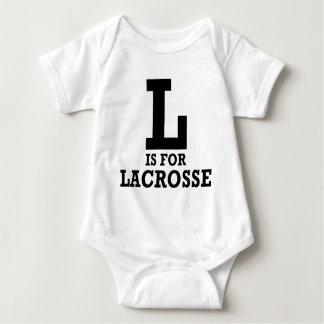 L is for Lacrosse Baby Bodysuit