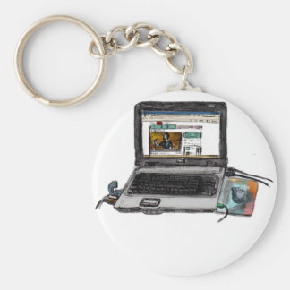 L is for Laptop Key Chains