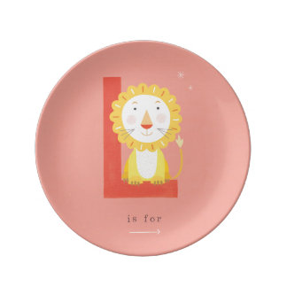 L is for... plate