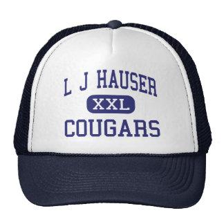 L J Hauser - Cougars - Junior - Riverside Illinois Cap