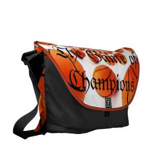 l Like Basketball the Game of Champions Bag Messenger Bags