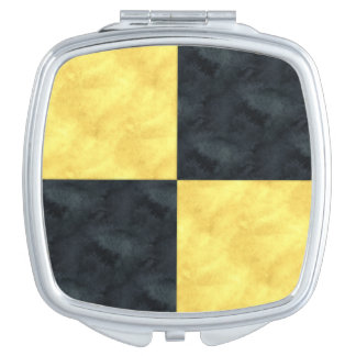 L Lima Watercolor Nautical Signal Maritime Flag Mirrors For Makeup