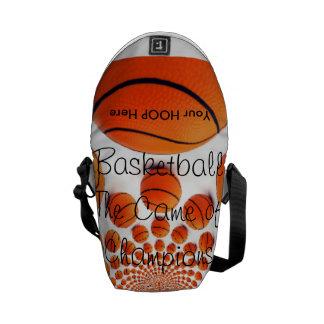 l Love Basketball the Game of Champions bag Messenger Bag