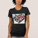 l LOVE SEA GLASS T-shirts