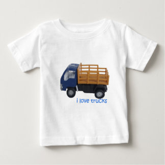l love trucks baby T-Shirt