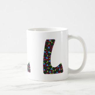 """""""L"""" Monogram Mug"""