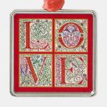 L-O-V-E Ornament