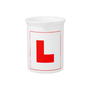 L-Plate Learner Driver / Bachelorette Hen Night Pitcher