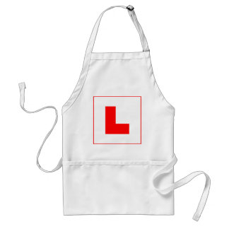 L-Plate Learner Driver / Bachelorette Hen Night Standard Apron