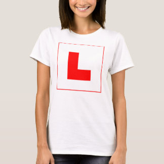 L-Plate Learner Driver / Bachelorette Hen Night T-Shirt