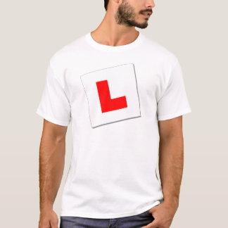 L Plates (redwhite) T-Shirt