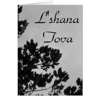 L shana Tova Card