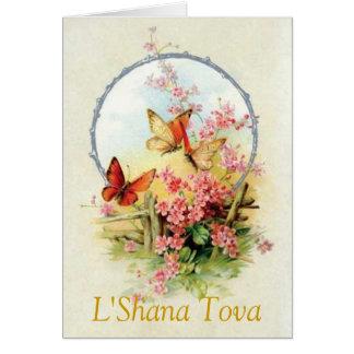 L' SHANA TOVA NOTE CARD