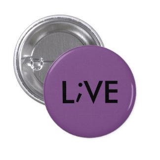 L;VE (pick your color) 3 Cm Round Badge