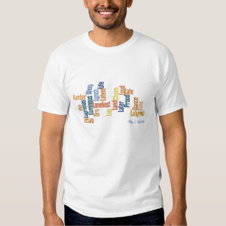 L Word Cloud T Shirts