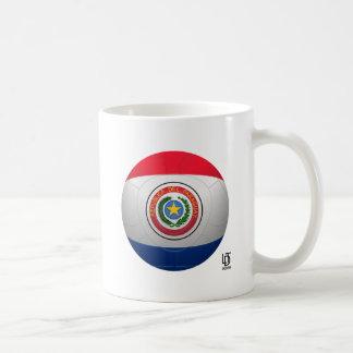 La Albirroja - Paraguay Football Basic White Mug