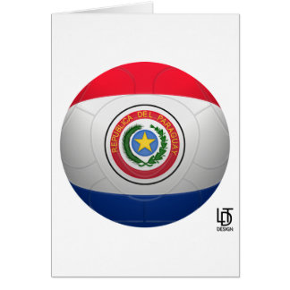 La Albirroja - Paraguay Football Card