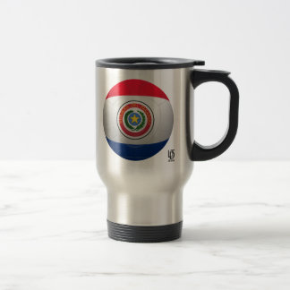 La Albirroja - Paraguay Football Stainless Steel Travel Mug
