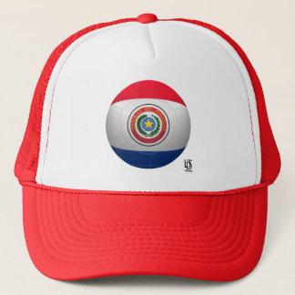 La Albirroja - Paraguay Football Trucker Hat