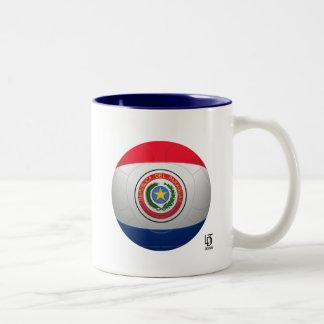 La Albirroja - Paraguay Football Two-Tone Mug