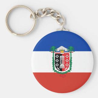 La Araucania, Chile, Chile Basic Round Button Key Ring