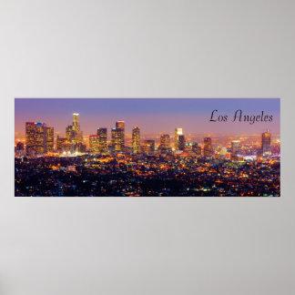 LA at  Night Poster