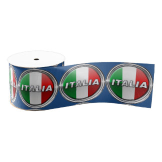 La Bandiera - The Italian Flag Grosgrain Ribbon