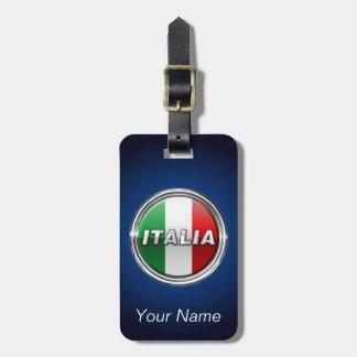 La Bandiera - The Italian Flag Luggage Tag